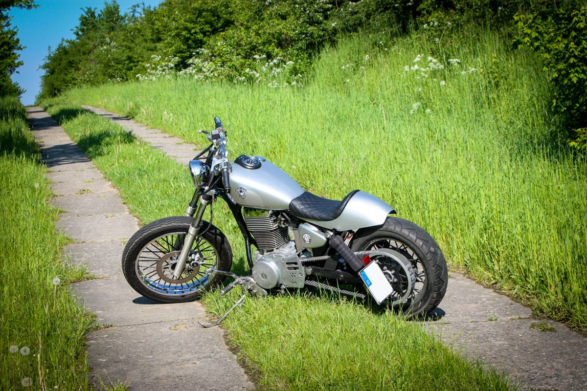Suzuki Savage Bobber Build